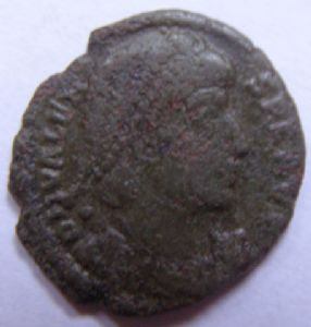 front view: 11 11 - ROMAN COIN - HELP!!